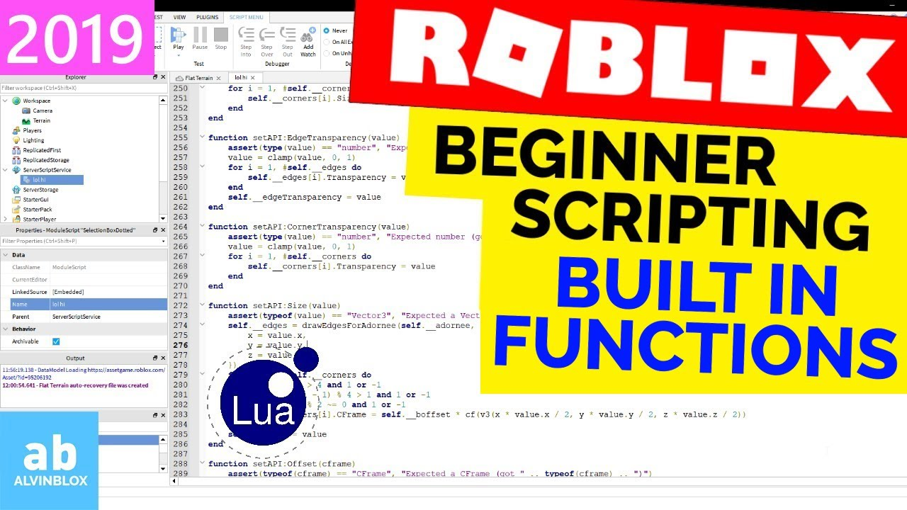 How To Use Roblox Scripts