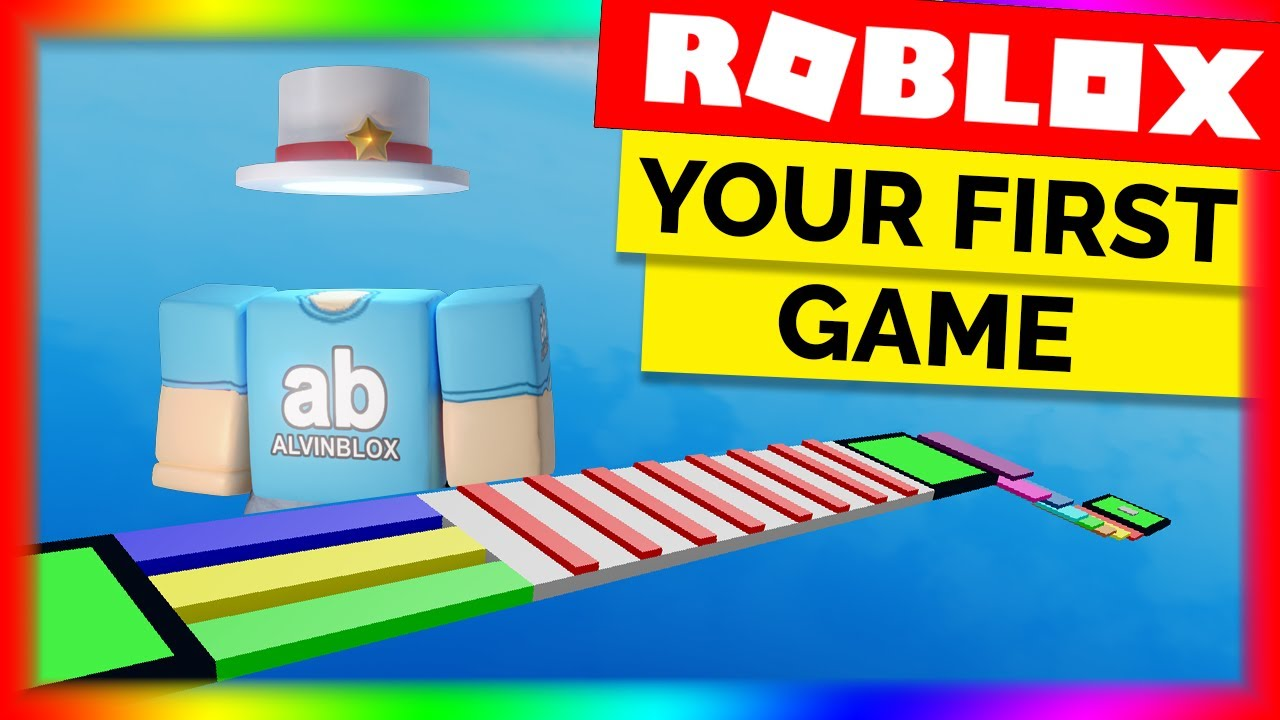 how to make a game in roblox studio 2019