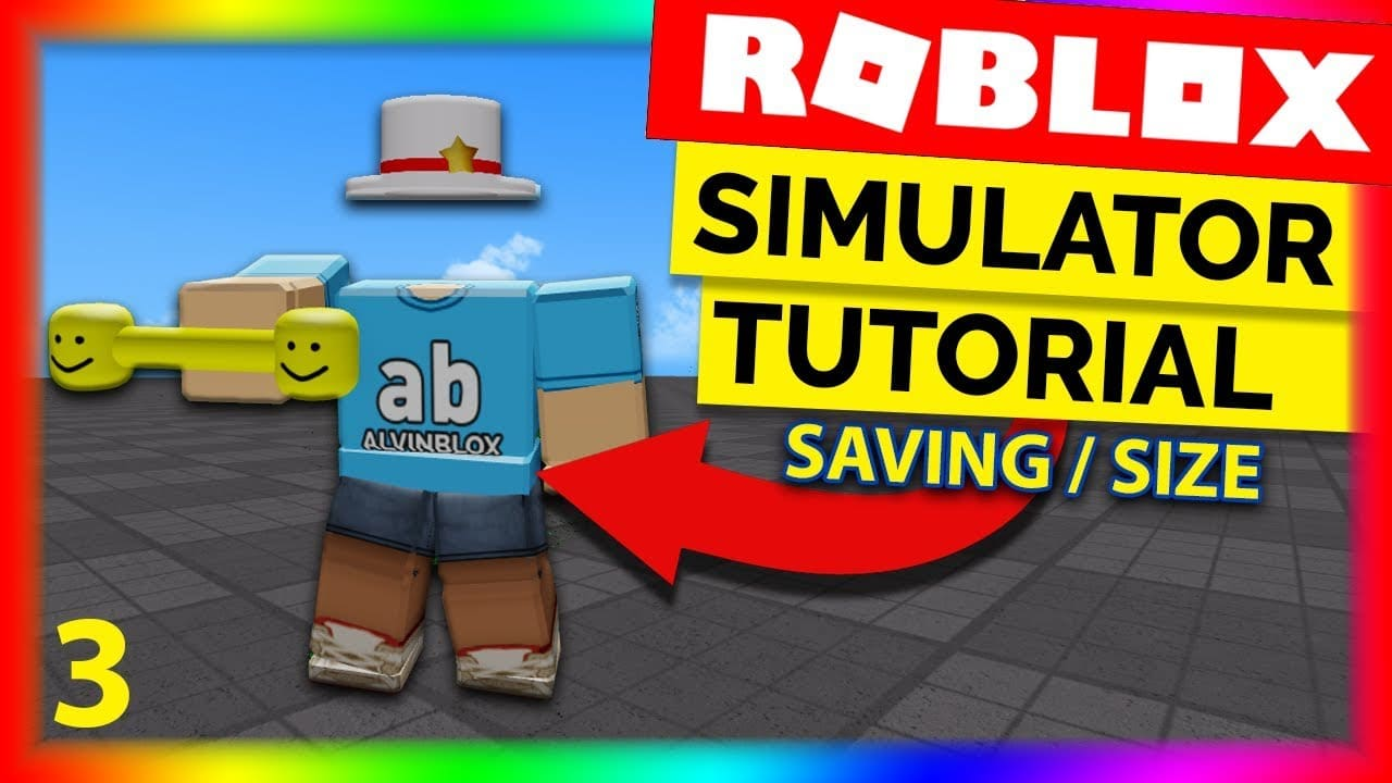 How To Make A Simulator On Roblox Part 3 – Data Saving & Size Scripting