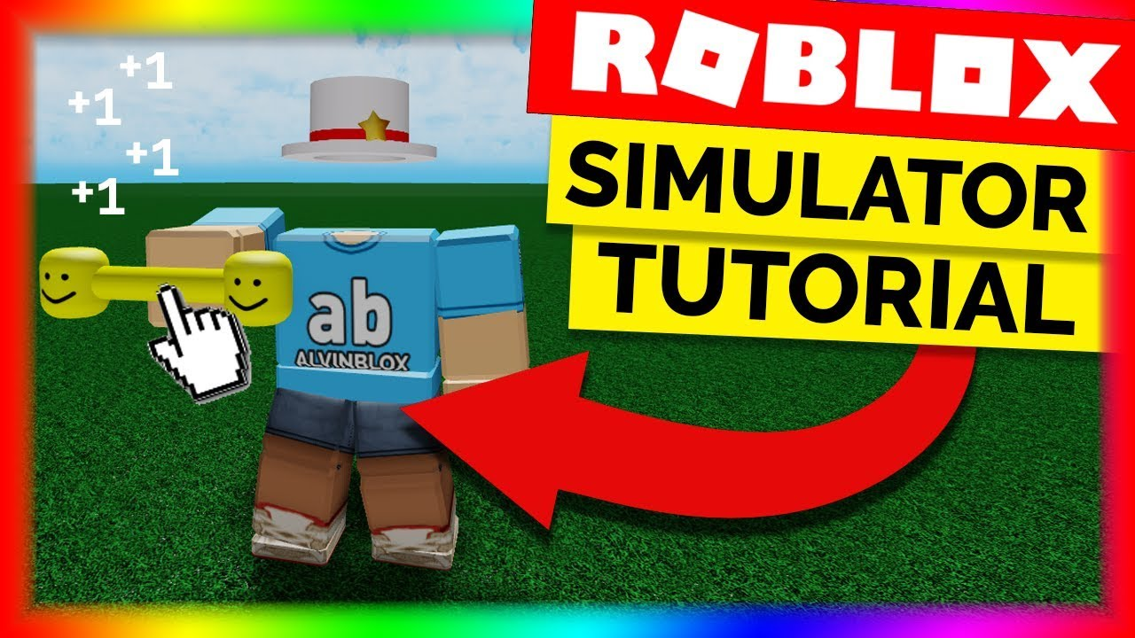 How To Make A Simulator Game On Roblox Part 1