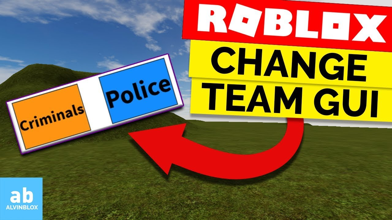 How To Make A Team Change GUI on Roblox