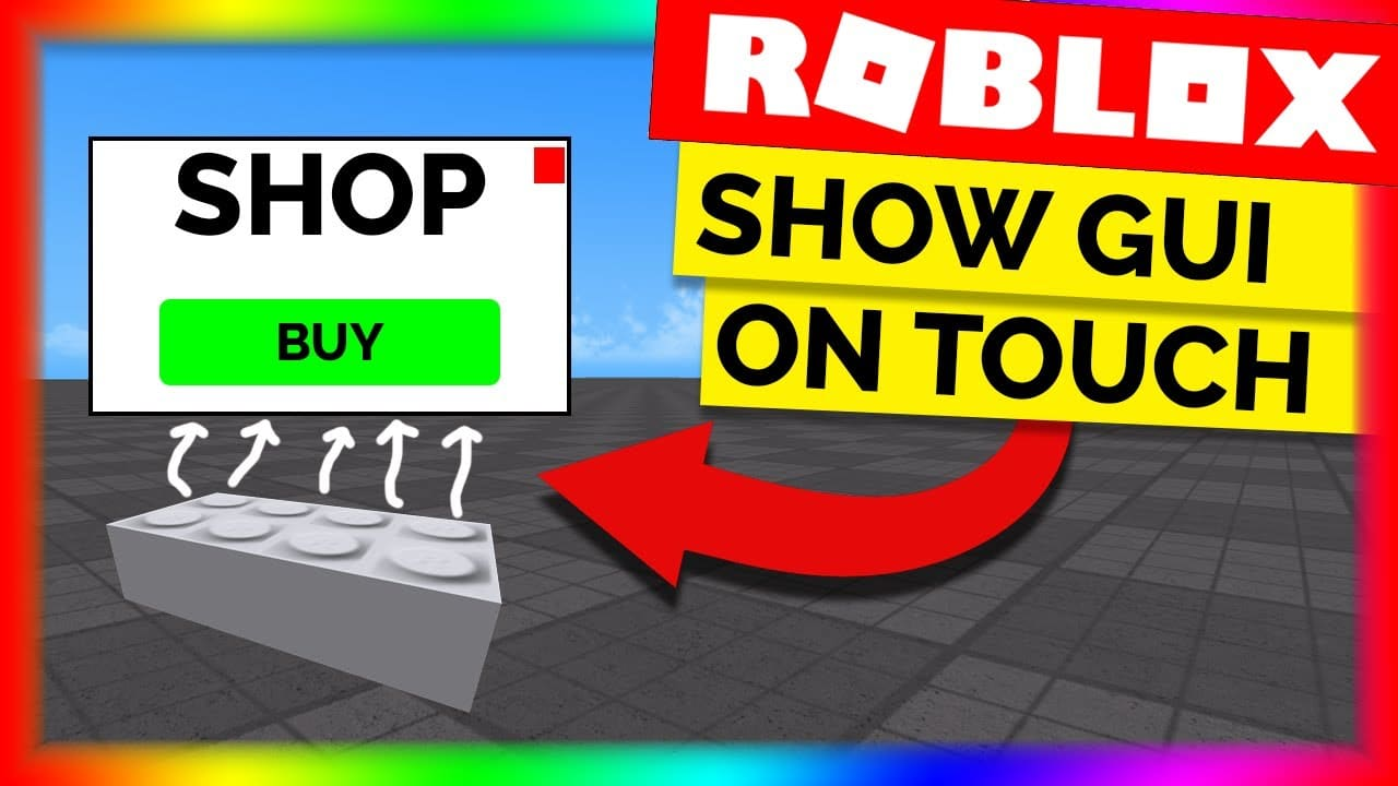 How To Make An Animation Gui In Roblox Open Gui With A Part Roblox Scriptiing