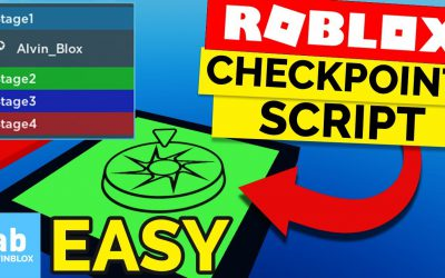 Roblox Obby Checkpoint Tutorial