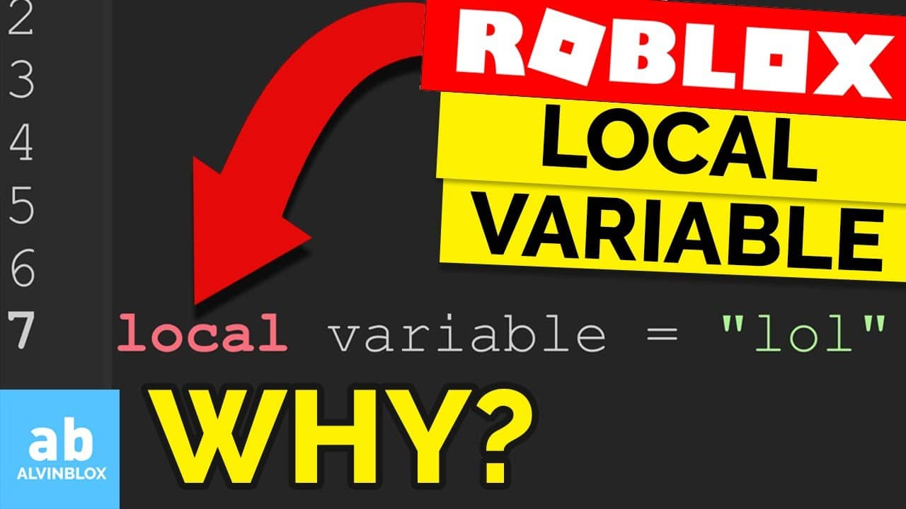 What does 'local' variable mean?