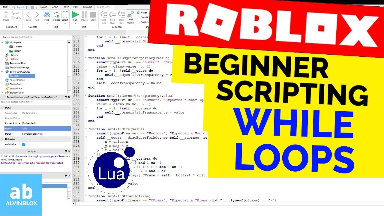 While Loops – Roblox Beginner Scripting #15