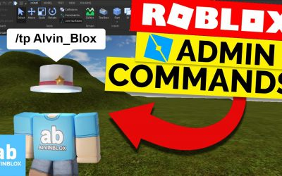 How To Make Admin Commands in Roblox Studio