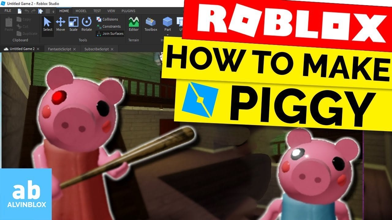Roblox How Create Animation How To Make A Piggy Game On Roblox