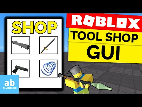 How To Make A Shop On Roblox – Roblox Tool Shop GUI