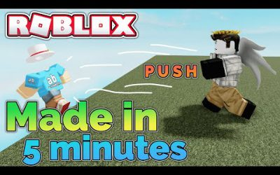 I made a Roblox game in 5 minutes…