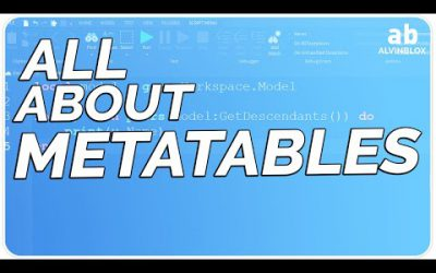 METATABLES – Roblox Scripting Tutorial