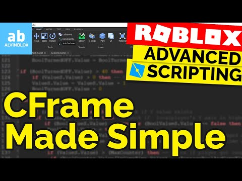 What Is CFrame? | Roblox CFrame Tutorial | LookVector, Angles & More!