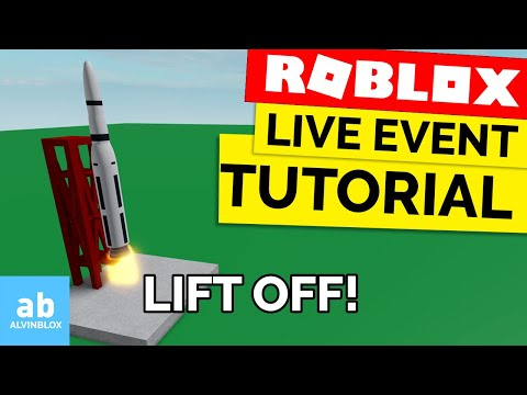 How to make a LIVE EVENT on Roblox