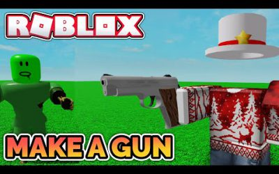 Make a GUN in Roblox in 10 minutes