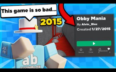 Playing My Old Roblox Games…